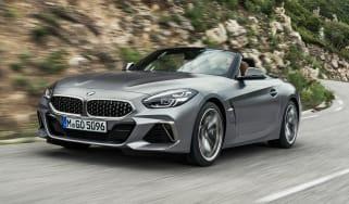 BMW Z4 M40i silver - front