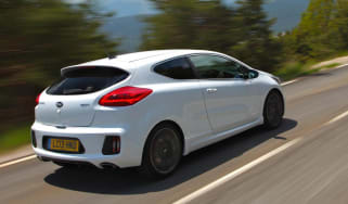 Kia Proceed GT white rear