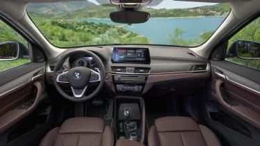 BMW X1 facelift 2019 - interior