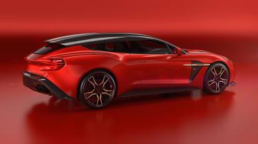 Aston Martin Vanquish Zagato Shooting Brake - rear quarter