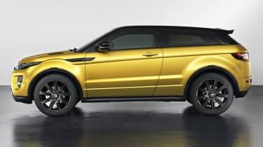 Range Rover Evoque Sicilian Yellow Limited Edition side profile