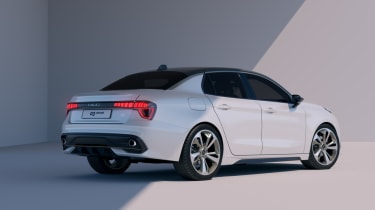 Lynk & Co 03 Concept rear three quarter