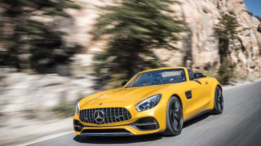 Mercedes-AMG GT C Roadster - front tracking
