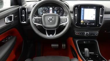Volvo XC40 - dash