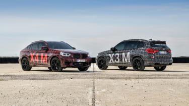 BMW X3 M and X4 M prototypes - pair