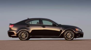 New Lexus IS-F side profile