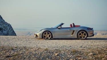 Porsche Boxster 25 - side