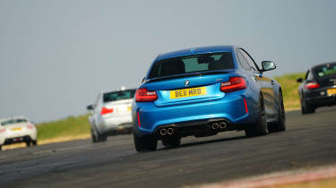 evo Trackday Bedford 27AUG - BMW M2