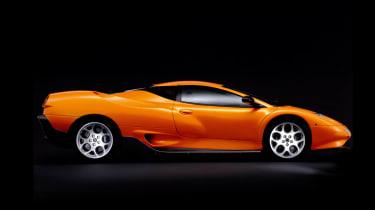 Lamborghini Canto profile