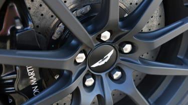 Aston Martin V12 Vantage S black alloy wheel