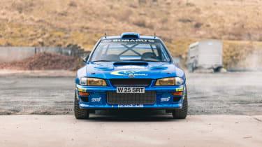 Subaru Impreza S6 WRC – nose