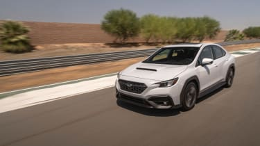 All-new 2022 Subaru WRX GT – front tracking