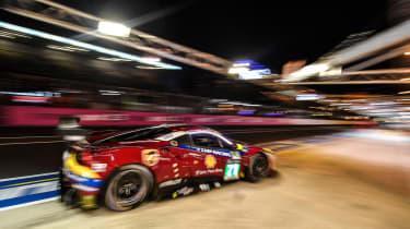Le Mans 2017 - Ferrari pit 2