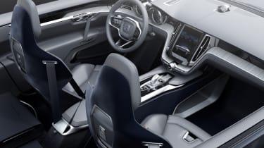 Volvo Coupe Concept interior