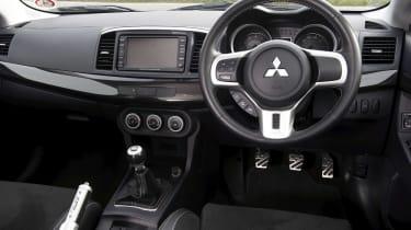 Mitsubishi Evo X FQ-400 dashboard