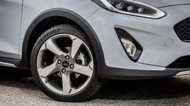 Ford Fiesta Active – wheel