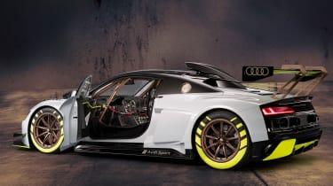 Audi R8 LMS GT2 side door