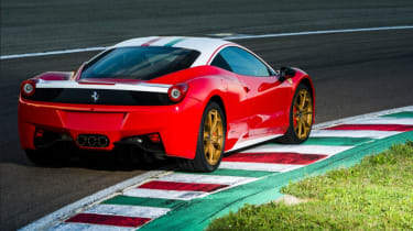 Ferrari 458 Italia Niki Lauda rear