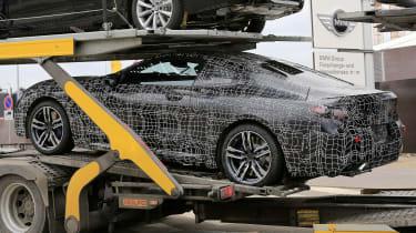 BMW 8-series spy - side