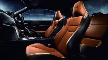 Subaru BRZ Premium Sport Edition tan leather seats
