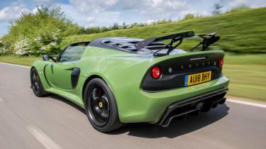 Lotus Exige Sport 410 – rear quarter