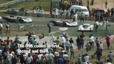 Porsche Group C Le Mans video