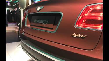 Bentley Bentayga PHEV – badge rear