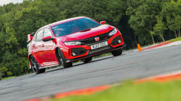 Honda Civic Type R - on track