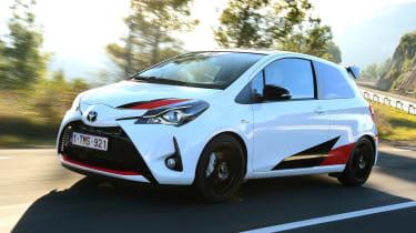 Toyota Yaris GRMN - front dynamic