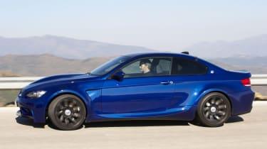 BMW M3 side on