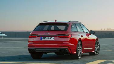 Audi S6 Avant - rear