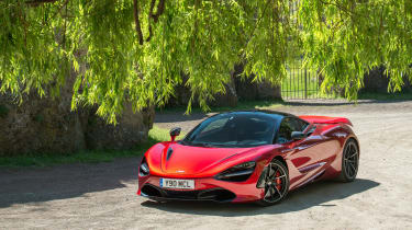 McLaren 720S - front three quarter