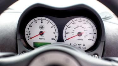 Lotus Elise S2 Sports Racer dials