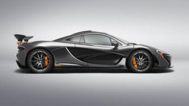 McLaren P1 MSO side profile