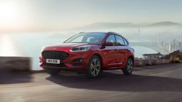 2019 Ford Kuga PHEV - front quarter