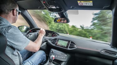 Peugeot 308 GTi by Peugeot Sport - interior driving