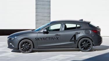 Mazda Skyactive X prototype - profile