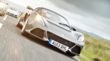 Lotus Exige S Roadster grey front