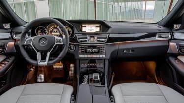 2013 Mercedes-Benz E63 AMG interior dashboard