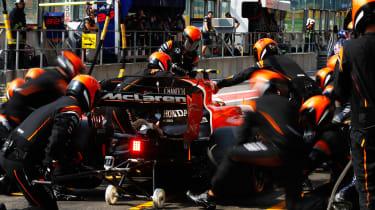F1 Spa 2017 - Mclaren