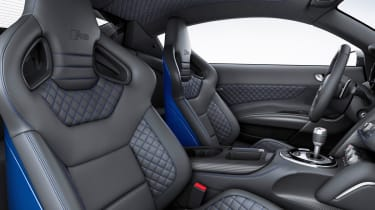 Audi R8 LMX quilted leather sports seat