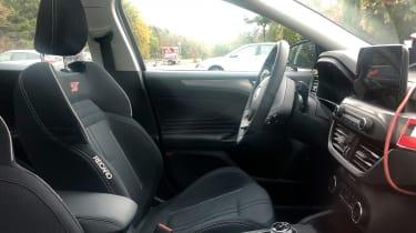 Ford Focus ST spy - interior