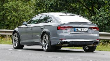 Spy - Audi RS5 Sportback rear 3.4