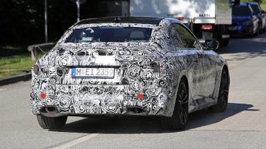 2021 BMW 2-series spy – rear tracking
