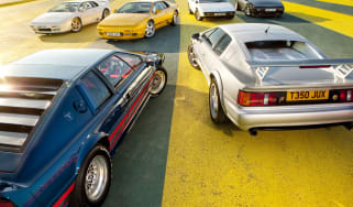 Lotus Esprit S1 vs Essex Turbo vs Sport 300 vs S4S vs GT3 vs Sport 350