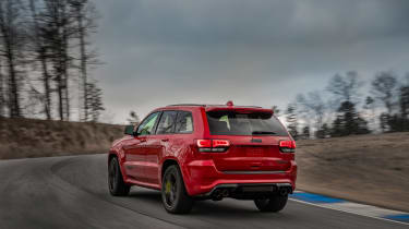 Jeep Grand Cherokee Trackhawk - rear driving