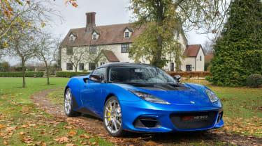 Lotus Evora GT410 - front quarter