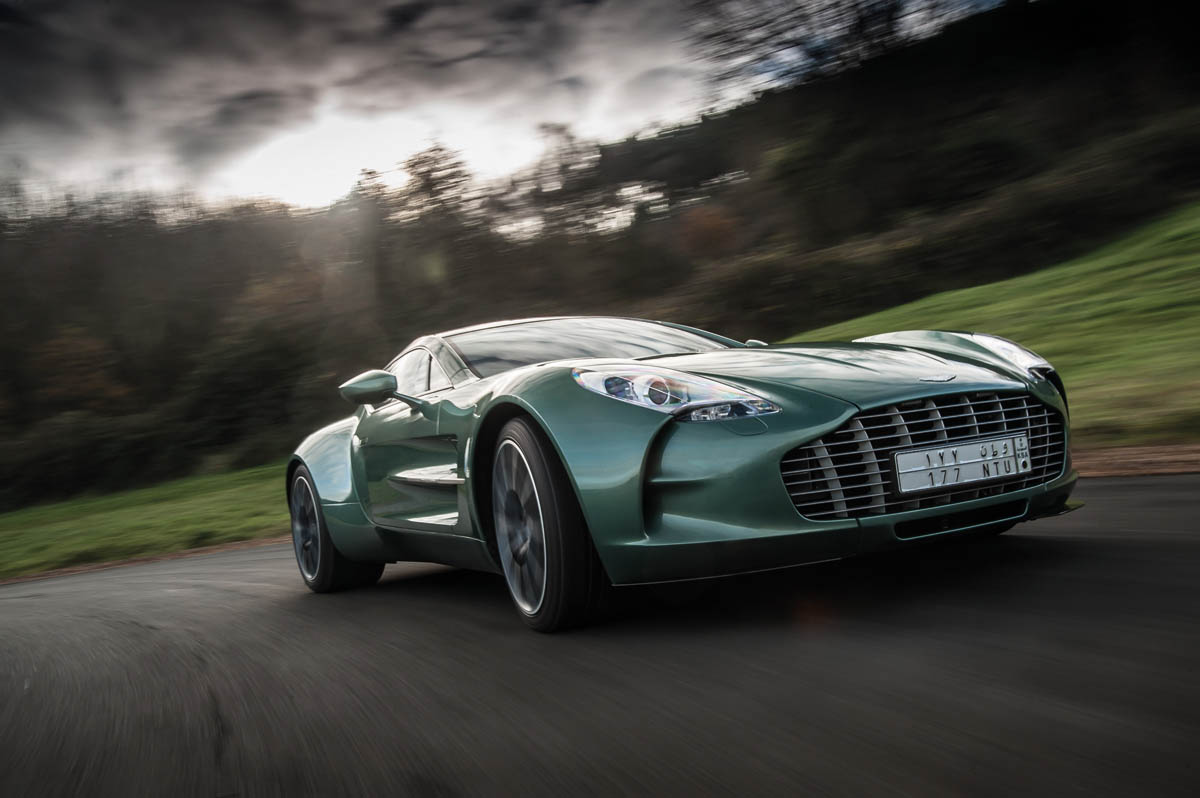 Exclusive Aston Martin One 77 Video Review Evo