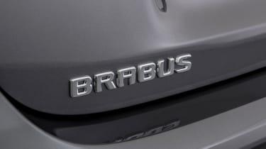 Brabus-tuned A-Class badge