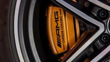 Mercedes-AMG GT C Roadster - brake caliper